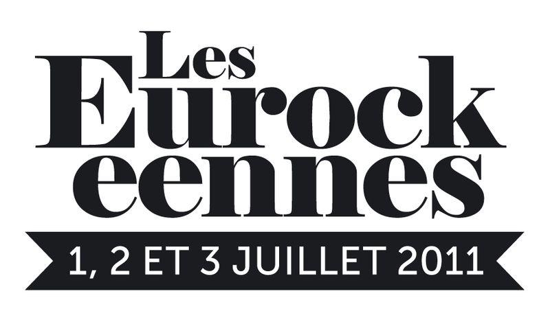 Usage petit format_Logo Eurockéennes 2011 Noir et blanc