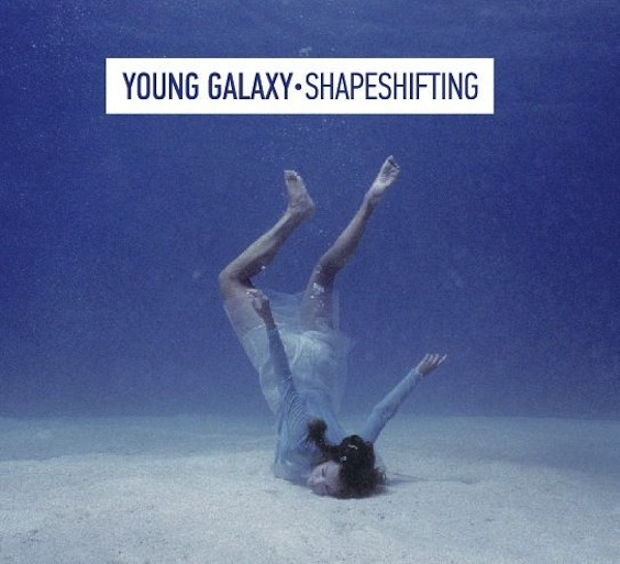 Young galaxy shapeshifting