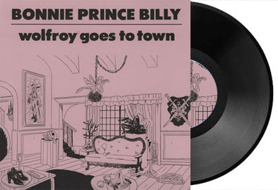 Bonnie prince billy wolfroy goes to town cover pochette