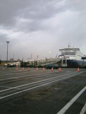 Départ ferry