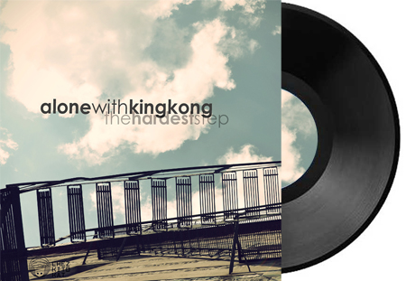 Alone with king kong the hardest step cover pochette